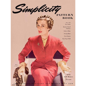 Simplicity Poster Vintage 1940s