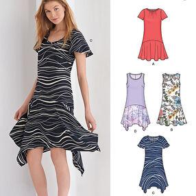 Misses' Easy Dresses