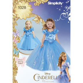 """Disney Cinderella Costume for Child and 18"""" Doll"""