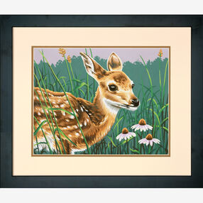 Fawn and Flowers, Paint by Number_73-91447