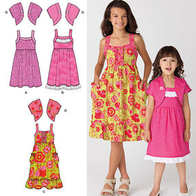 Child's and Girls' Dress and Jacket