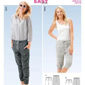 B6659 Misses' Pants