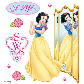 Snow White Reflection Dimensional Stickers_51-20017