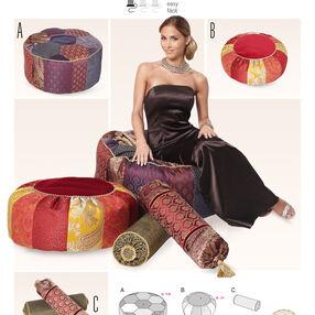 Burda Style Pattern 6881 Creative, Doll Clothes, Accessories