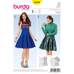 Burda Style Pattern 6594 Dress