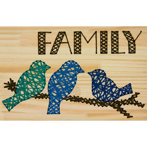 Family Yarn Art, Embroidery_72-74209