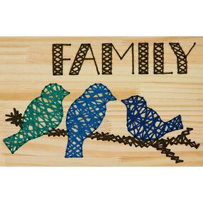 Family Yarn Art, Embroidery_72-74209
