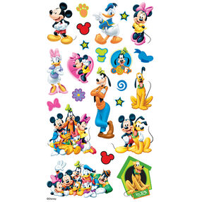 Mickey And Friends Flat Stickers_53-00019