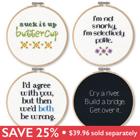 Say It Sassy Bundle, Counted Cross Stitch_189901