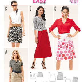 B6682 Women's Skirt