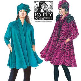 Misses' Coat, Jacket and Hat