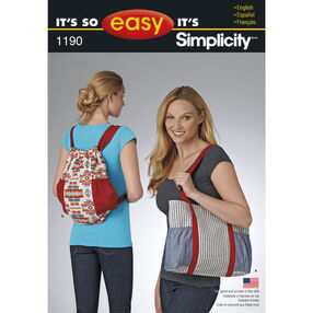 It's So Easy Tote Bags
