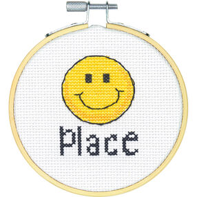 Happy Place, Counted Cross Stitch_72-75244