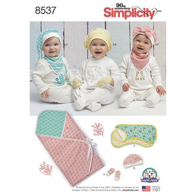 Simplicity Pattern 8537 Baby Accessories