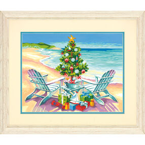 Christmas on the Beach, Paint by Number_73-91616