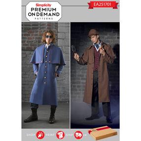 EA251701 Premium Print on Demand Costume Pattern