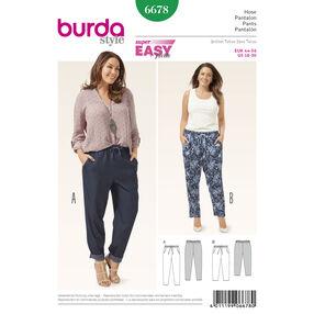 Burda Style Pattern 6678 Women's Pants