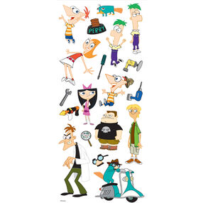 Phineas and Ferb Large Stickers_53-60032