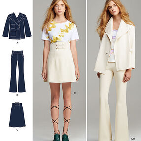 Misses' Suit Separates, Cynthia Rowley Collection