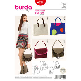 Burda Style Pattern 6622 Bags
