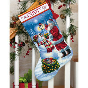 Holiday Glow Stocking, Counted Cross Stitch_70-08952