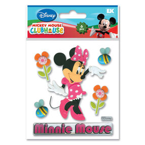 Minnie Mouse Dimensional Stickers_DMCHM1