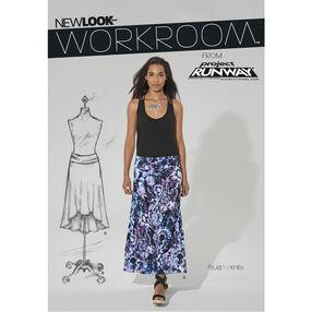 Misses' Knit Skirt in Two Lengths