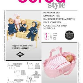 Burda Style Pattern 8591 Doll Clothes