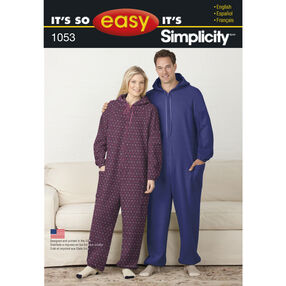 It's So Easy Fleece Jumpsuit for Teens' and Adults'