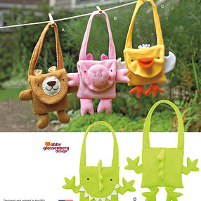 Fleece Animal Bags