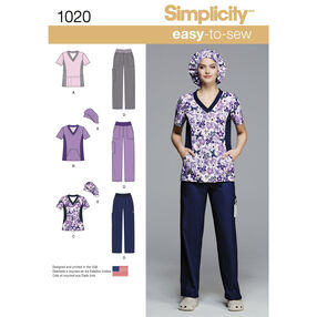 Misses' and Plus Size Scrubs