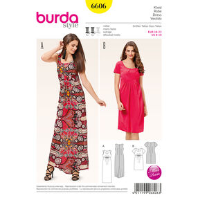 Burda Style Pattern 6606 Dress