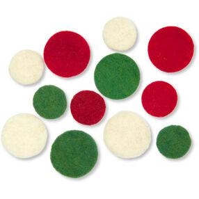 Wool Felt Holiday Dots_72-08217