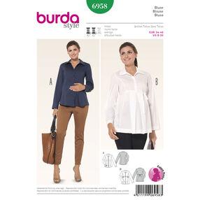 Burda Style Pattern 6958 Maternity Wear