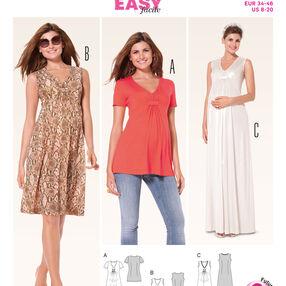 Burda Style Pattern 6956 Maternity Wear