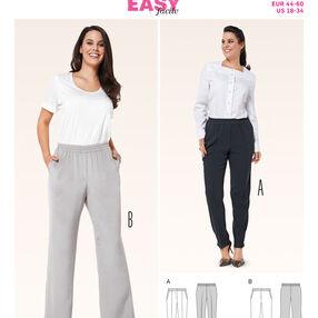 Burda Style Pattern 6859 Plus to Size 60