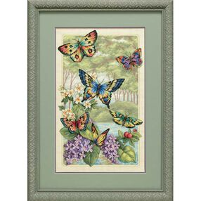 Butterfly Forest, Counted Cross Stitch_35223