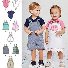 Babies' Overalls, Jumper and Bodysuit