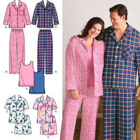 Women's & Men's Plus Size Sleepwear