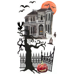 Haunted House Stickers_50-50610