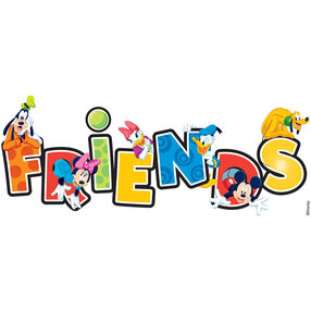 Disney Friends Dimensional Stickers_DMFTW