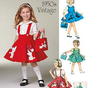 Child's Jumper, Skirt and Bag