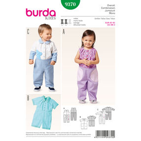 Burda Style Pattern 9370 Jumpsuit