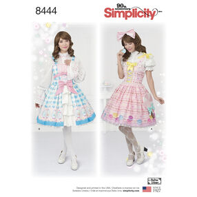 Pattern 8444 Misses' Lolita Costume