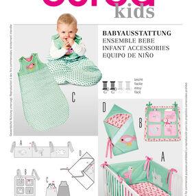 Burda Style Pattern 9479 Infant Accessories