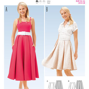 B6650 Misses' Skirt
