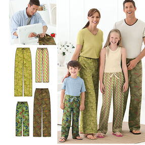Child's, Teens' & Adults' Pants