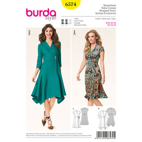 Burda Style Pattern 6574 Wrap Dress