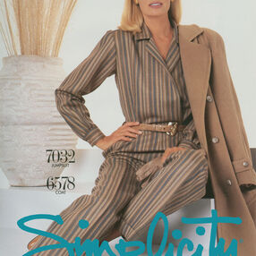 Simplicity Poster Vintage 1980's
