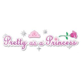 Pretty As A Princess Title Sticker_DJTP001